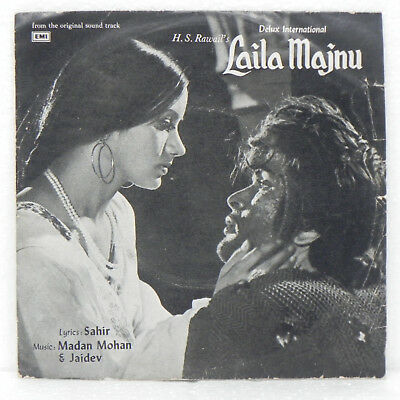 Laila-Majnu-EP-Record-Rare-1976-Madan-Mohan